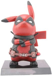 Figura de Pikachu de Deadpool - Figuras coleccionables de Pikachu de Pokemon