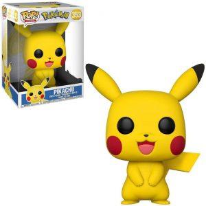 Figura de Pikachu de FUNKO POP de 25 cm - Figuras coleccionables de Pikachu de Pokemon