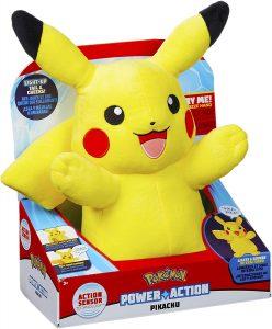 Figura de Pikachu de Peluche de Pokemon - Figuras coleccionables de Pikachu de Pokemon