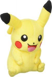 Figura de Pikachu de Peluche pequeño - Figuras coleccionables de Pikachu de Pokemon