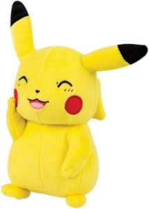 Figura de Pikachu de Peluche riendo - Figuras coleccionables de Pikachu de Pokemon