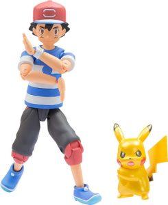 Figura de Pikachu y Ash de Takara Tomy - Figuras coleccionables de Pikachu de Pokemon