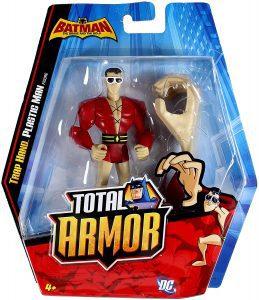 Figura de Plastic Man de DC Total Armor - Figuras coleccionables de Plastic Man
