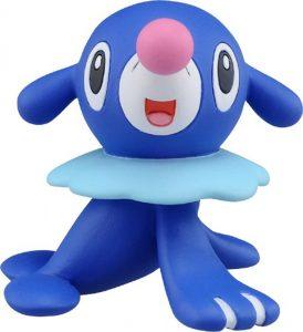 Figura de Popplio de Takara Tomy - Figuras coleccionables de Popplio de Pokemon