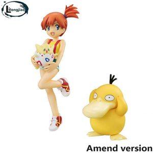 Figura de Psyduck, Misty y Togepi de Collection - Figuras coleccionables de Psyduck de Pokemon