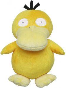 Figura de Psyduck clásico de Peluche - Figuras coleccionables de Psyduck de Pokemon