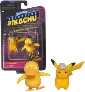 Figura de Psyduck y Pikachu de Detective Pikachu - Figuras coleccionables de Psyduck de Pokemon