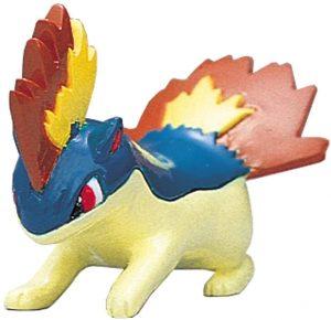 Figura de Quilava de Takara Tomy - Figuras coleccionables de Cyndaquil de Pokemon