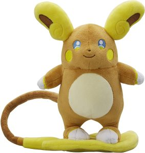 Figura de Raichu de Alola de Peluche - Figuras coleccionables de Raichu de Pokemon