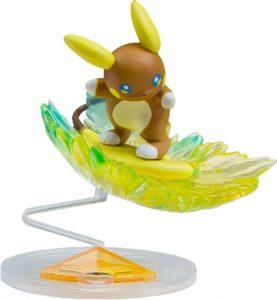 Figura de Raichu de Alola de Takara Tomy - Figuras coleccionables de Raichu de Pokemon