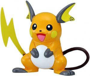 Figura de Raichu de Takara Tomy - Figuras coleccionables de Raichu de Pokemon