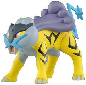 Figura de Raikou de Tomy - Figuras coleccionables de Raikou de Pokemon
