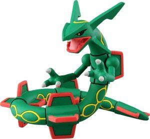 Figura de Rayquaza de Takara Tomy - Figuras coleccionables de Rayquaza de Pokemon