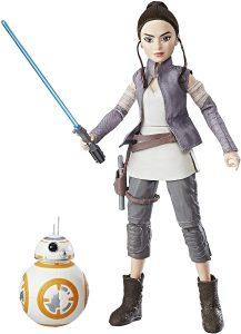 Figura de Rey y Bb8 de Black Series de Hasbro - Figuras coleccionables de Rey de Star Wars