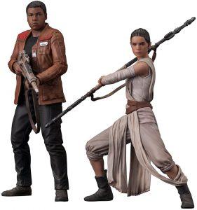 Figura de Rey y Finn de Kotobukiya - Figuras coleccionables de Rey de Star Wars