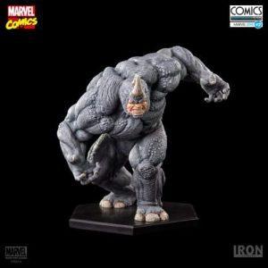Figura de Rhino de Iron Studios - Figuras coleccionables de Rhino