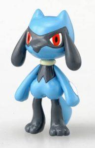 Figura de Riolu de Takara Tomy - Figuras coleccionables de Riolu de Pokemon