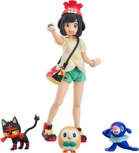 Figura de Rowlet, Popplio y Litten de Good Smile Company - Figuras coleccionables de Rowlet de Pokemon