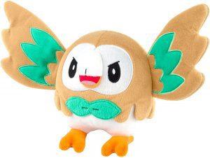 Figura de Rowlet de Peluche 3 - Figuras coleccionables de Rowlet de Pokemon