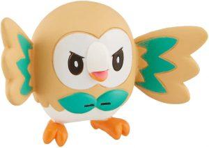 Figura de Rowlet de Takara Tomy - Figuras coleccionables de Rowlet de Pokemon