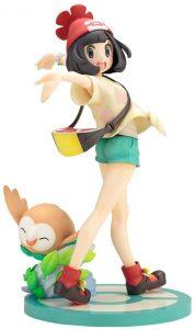 Figura de Rowlet y Moon de Kotobukiya - Figuras coleccionables de Rowlet de Pokemon