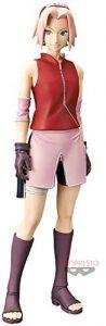 Figura de Sakura Haruno de Naruto de Banpresto - Figuras coleccionables de Sakura Haruno