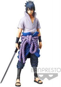 Figura de Sasuke Uchiha de Naruto de Banpresto 2 - Figuras coleccionables de Sasuke Uchiha