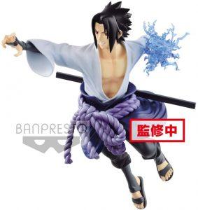 Figura de Sasuke Uchiha de Naruto de Banpresto - Figuras coleccionables de Sasuke Uchiha