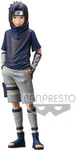 Figura de Sasuke Uchiha de Naruto de Banpresto manos en los bolsillos - Figuras coleccionables de Sasuke Uchiha