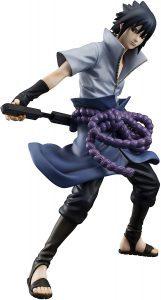 Figura de Sasuke Uchiha de Naruto de Megahouse - Figuras coleccionables de Sasuke Uchiha