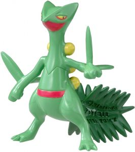 Figura de Sceptile de Takara Tomy - Figuras coleccionables de Sceptile de Pokemon