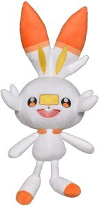 Figura de Scorbunny de Peluche - Figuras coleccionables de Scorbunny de Pokemon