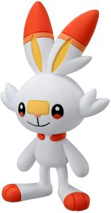 Figura de Scorbunny de Takara Tomy - Figuras coleccionables de Scorbunny de Pokemon