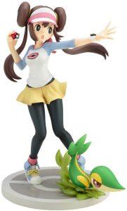 Figura de Snivy y Rosa de Kotobukiya - Figuras coleccionables de Snivy de Pokemon