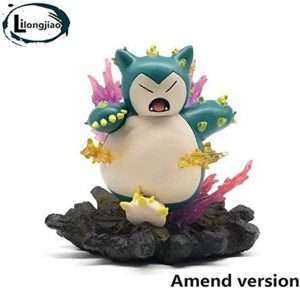 Figura de Snorlax de Lilongjiao 2 - Figuras coleccionables de Snorlax de Pokemon