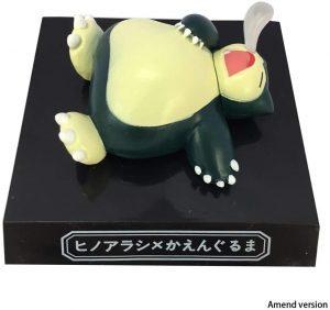 Figura de Snorlax de Lilongjiao - Figuras coleccionables de Snorlax de Pokemon