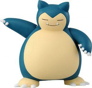 Figura de Snorlax de Takara Tomy - Figuras coleccionables de Snorlax de Pokemon