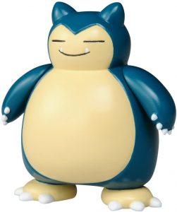 Figura de Snorlax de Takara Tomy básico - Figuras coleccionables de Snorlax de Pokemon