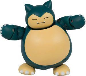 Figura de Snorlax de Tomy - Figuras coleccionables de Snorlax de Pokemon