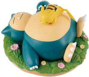 Figura de Snorlax y Pikachu de Banpresto - Figuras coleccionables de Snorlax de Pokemon