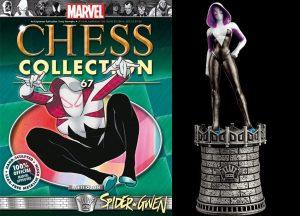 Figura de Spider Gwen de Eaglemoss - Figuras coleccionables de Spider-Gwen