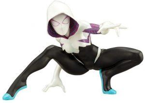 Figura de Spider Gwen de Kotobukiya 2 - Figuras coleccionables de Spider-Gwen