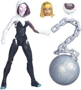 Figura de Spider Gwen de Marvel Legends Series - Figuras coleccionables de Spider-Gwen