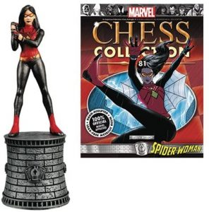 Figura de Spider woman de Eaglemoss - Figuras coleccionables de Spiderwoman