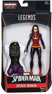 Figura de Spider woman de Hasbro- Figuras coleccionables de Spiderwoman
