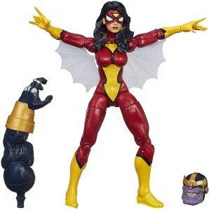 Figura de Spider woman de Marvel Legends - Figuras coleccionables de Spiderwoman