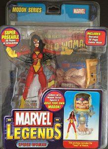 Figura de SpiderWoman de Marvel Legends - Figuras coleccionables de Spiderwoman