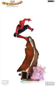 Figura de Spiderman de Homecoming de Iron Studios - Figuras coleccionables de Spiderman