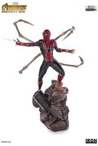 Figura de Spiderman de Infinity War de Iron Studios - Figuras coleccionables de Spiderman