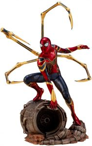 Figura de Spiderman de Infinity War de Kotobukiya - Figuras coleccionables de Spiderman